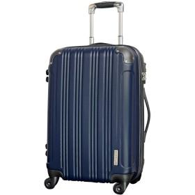 M型 ミッドナイト/メッシュQueendom TSAロック搭載 スーツケース キャリーバッグ 中型 (3~5日用)
