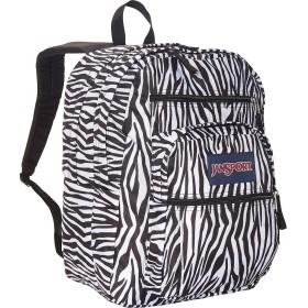 ジャンスポーツ バッグ バックパック・リュックサック Big Student Backpack- Sale Colors Black/Whit [並行輸入品]