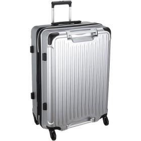 [シフレ] ハードジッパースーツケース GripMaster グリップマスター 拡張式 保証付 97L 67 cm 4.9kg ヘアラインマットシルバー