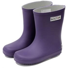 [ボストアール] キッズ 長靴 BOST-R 子供 男の子 女の子 レインブーツ (13cm-23cm) 15cm,パンジー/パープル