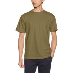 [プリントスター] 半袖 5.6オンス へヴィー ウェイト Tシャツ 00085-CVT オリーブ M (日本サイズM相当)