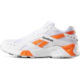 (リーボック) Reebok AZTREK CN7472 ホワイト オレンジ アズトレック スニーカー (26) [並行輸入品]