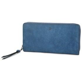 [バギーポート] 長財布 ラウンドファスナー 本革 ブオナ ZYS2400 メンズ ブルー BP-ZYS2400-BL