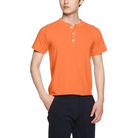 [ヘルスニット] Tシャツ #906S メンズ Orange 日本 M-(日本サイズM相当)