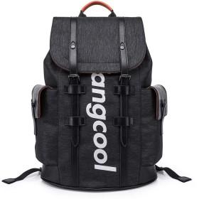 レジャー旅行バッグ、コンピュータバッグ、ファッショントレンド、若者のバックパックレジャー大容量パッケージ、黒