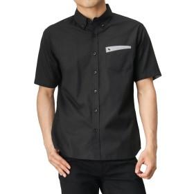 MOSSIMO(モッシモ) ドビーデザインシャツ 8270-7410M メンズ ブラック:S