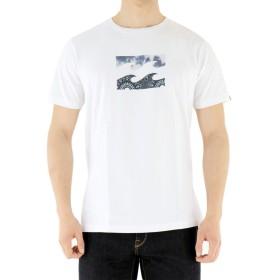 (ビラボン) Billabong ウエーブロゴTシャツ 【AH011-203 WAVE LOGO】USAコットン 半袖 半そで ティー L WHT