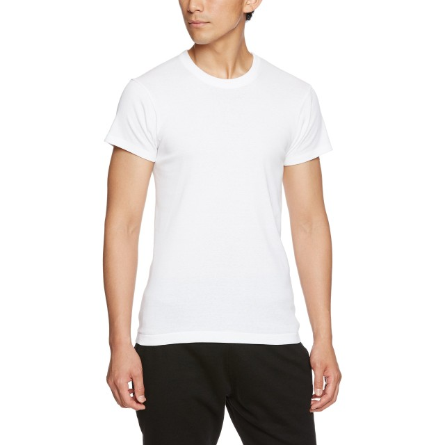 [グンゼ] インナーシャツ 快適工房 シーズン 天然キトサン 遠赤外線加工 半袖丸首 KH6014 メンズ ホワイト 日本LL (日本サイズ2L相当)