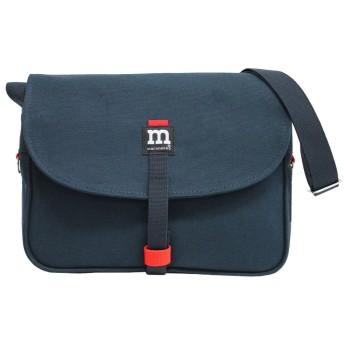 marimekko マリメッコ Magneettilaukku bag マグネッティラウック バッグ ショルダーバッグ 斜めがけ キャンバス レディース B5 40954 ダークブルー(40954 002) [並行輸入品]