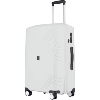 Kroeus(クロース)スーツケース キャリーケース PP100%ボディ 容量拡張機能 超軽量タイプ TSAロック搭載 ファスナータイプ 日本語取扱説明書 1年間保証付き 24