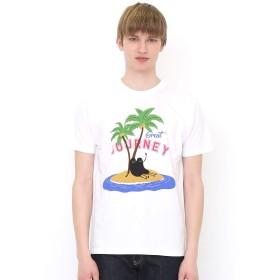 (グラニフ) graniph Tシャツ グレートジャーニー ビューティフルシャドー (ホワイト) メンズ レディース M (g01) (g14)