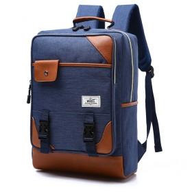 Semiga 多機能 リュック 大容量耐衝撃 軽量 防水 大容量 多機能のポケット リュックサック ビジネスバッグ パソコンバッグ 学生バッグ ノートPC iPad 収納対応 出張 旅行 通勤 通学 アウトドア適用 男女兼用 4色 ブルー