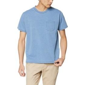 [チャムス] Tシャツ Utah Pocket T-Shirt Indigo Lt.Indigo 日本 XL (日本サイズXL相当)