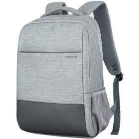 HANKE リュック ビジネスバッグ 男女兼用 メンズ レディース 大容量 通学 通勤 A4収納 15.6インチパソコン収納 バッグ カジュアル 軽量 多機能