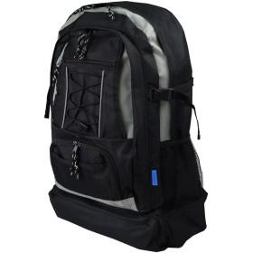 [ビアッジョ] 非常用持ち出し袋 デイパック リュックサック 防災 避難リュック 特大サイズ 30L 8213 ブラック