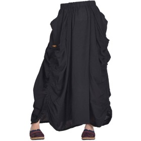MARAI(マーライ) ゅ!ロングスカート ブラック