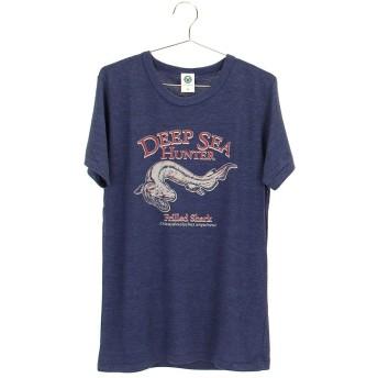 (カロラータ) COLORATA ミュージアムデザイン Tシャツ ラブカ Mサイズ ネイビー