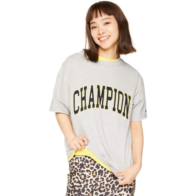 [チャンピオン] ショートスリーブクルーネックスウェットシャツ CW-P011 レディース オックスフォードグレー 日本 M (日本サイズM相当)