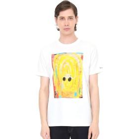 (グラニフ) graniph コラボレーション Tシャツ ゾウバスdaily! (荒井良二) (ホワイト) メンズ レディース L (g01) (g14)