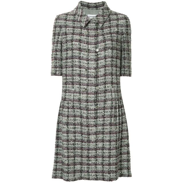 Chanel Pre-Owned ツイードジャケット - マルチカラー