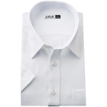 FLiC ワイシャツ 半袖 形態安定 メンズ ビジネス M(ノーマル) HR603 / snb-m-hr603