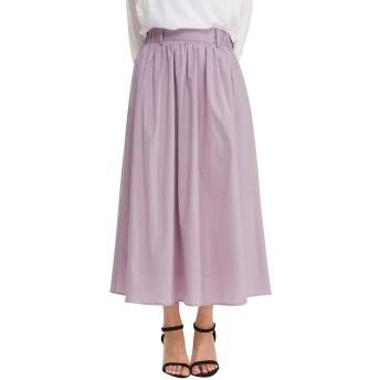 スカート ロング マキシ 100%綿 100%コットン レディース 春 夏 大きいサイズ ロングスカート ギャザースカート きれいめ かわいい カジュアル リゾート 定番 無地 女の子 大人 3色