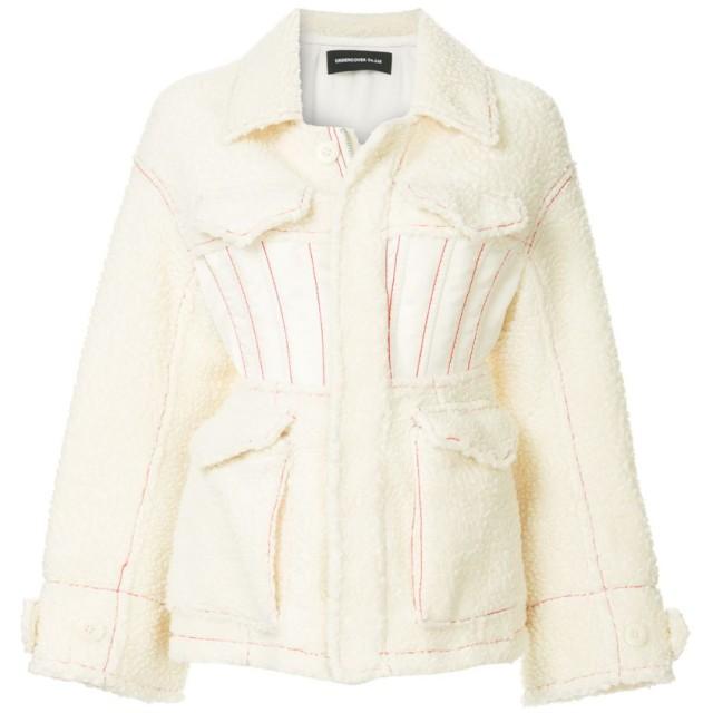 UNDERCOVER シアリング ジャケット - ホワイト