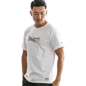(アドミックス アトリエサブメン) ADMIX ATELIER SAB MEN メンズ Tシャツ 半袖ファッションmodelコラボ ChampionTシャツ (スタイリストInouenさん) 02-66-9505 50(L) ホワイト(01)