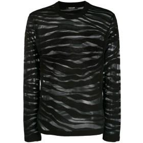 Roberto Cavalli ゼブラ セーター - ブラック