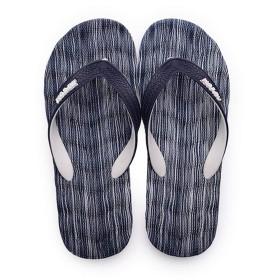 [シュウカ] ビーチサンダル 26.0cm メンズ トングサンダル スリッパ ビーサン 島ぞうり サンダル 藍色 疲れにくい 耐摩耗 リラックス 丈夫 ストラップ 軽量 履きやすい 大きいサイズ 足痛くない ゴム ンプル お洒落 サンダル トングサンダル