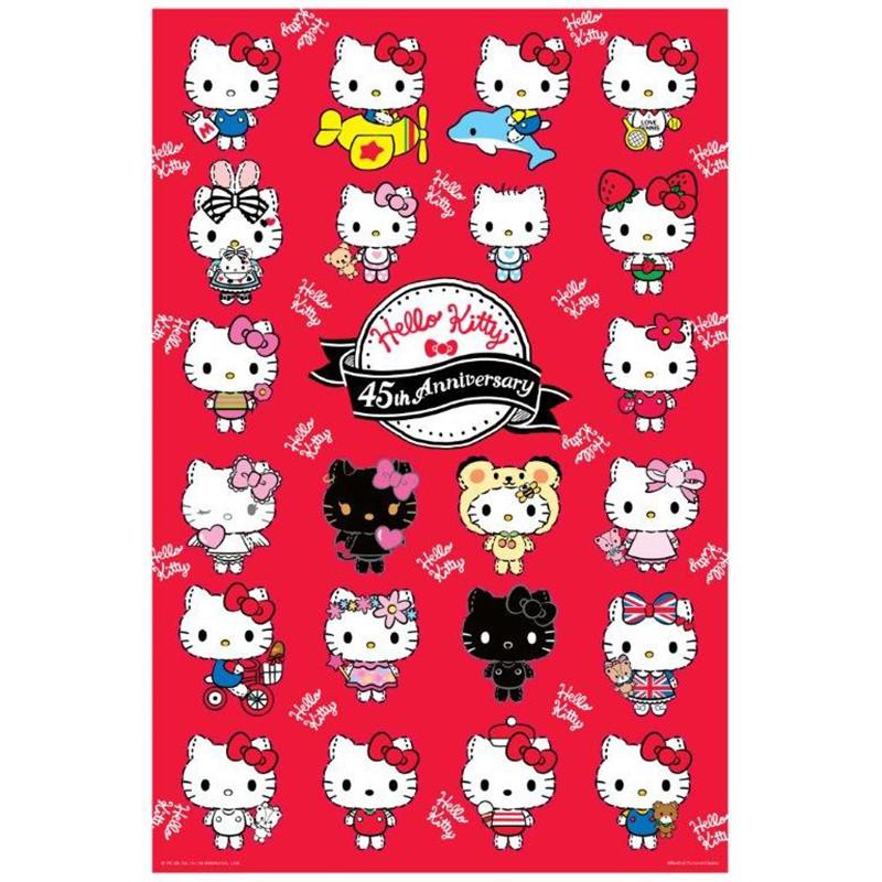 Hello Kitty【45周年系列】經典時尚拼圖1000片