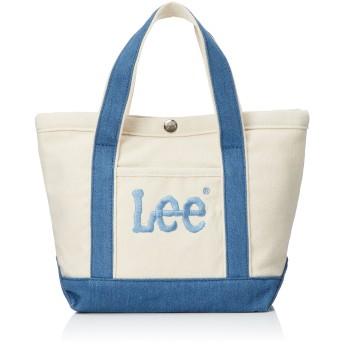 Lee トートバッグ 厚手コットンキャンバス ビッグロゴ刺繍