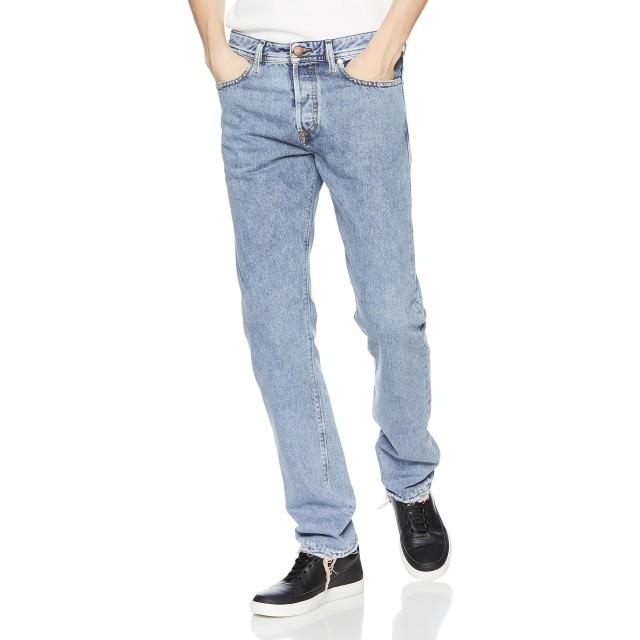 (ディーゼル) DIESEL メンズ デニム パンツ レギュラースリムテーパード 00SDHB084WL 30inch インディゴブルー E3948