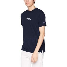 [チャンピオン] プラクティスTシャツ バスケットボール C3-PB315 メンズ ネイビー 日本 M (日本サイズM相当)
