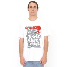 (グラニフ) graniph コラボレーション Tシャツ タテロゴタコ (カタカタ) (ホワイト) メンズ レディース S (g01) (g14) #▲