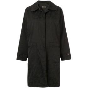 Fendi Pre-Owned ステンカラーコート - ブラック