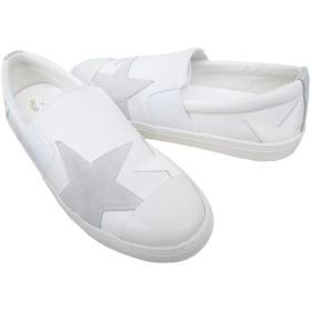 [コンバース] ALL STAR COUPE TRIOSTAR SLIP-ON オールスター クップ トリオスター スリップオン 限定モデル メンズ スニーカー (27.5cm(9), ホワイト)