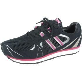 [岡本製甲] Lafeet(ラフィート) 足袋シューズ ランニングシューズ Zipang ジパング Lafeet for Running LZ1 osk002 メンズ レディース ブラックピンク 24cm