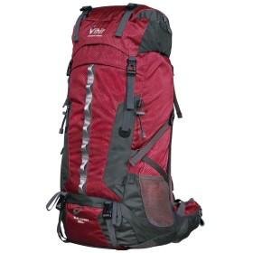 Vihir 登山リュック 60L リュックサック 大容量 登山用ザック バックパック 撥水 耐久性 防水 防震 通気 多機能バッグ レインカバー付き アウトドアバッグ 旅行バッグ 男女兼用