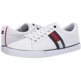 [トミー ヒルフィガー] メンズ 男性用 シューズ 靴 スニーカー 運動靴 Pally - White 9.5 D - Medium [並行輸入品]