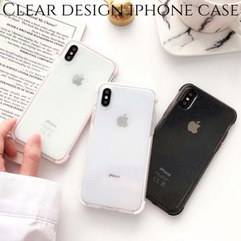 iphoneケース 透明 xr xs 8 8plus 7 6s スマホ ケース 韓国 アイフォンケース カップル ラメ おしゃれ 大人可愛い かわいい シンプル