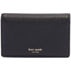 (ケイトスペード) kate spade new york カードケース MARGAUX SMALL KEYRING WALLET マルゴー スモール キーリング ウォレット PWRU7157 レディース 2019SS BLACK 001 [並行輸入品]