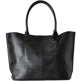 本革風 レザー トートバッグ バッグ レザーバッグ トート 大容量 革 高級 メンズ カジュアル ビジネス ブラック 黒