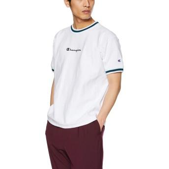 [チャンピオン] リバースウィーブ Tシャツ C3-P317 メンズ ホワイト 日本 XL (日本サイズXL相当)