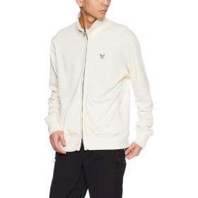 [エーグル] 裏毛スタンドカラージップジャケット ZSH016J メンズ オフホワイト 日本 00L (日本サイズL相当)