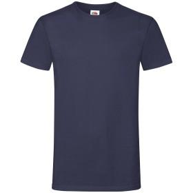 (フルーツオブザルーム) Fruit Of The Loom メンズ Sofspun 半袖 Tシャツ (S) (ネイビー)
