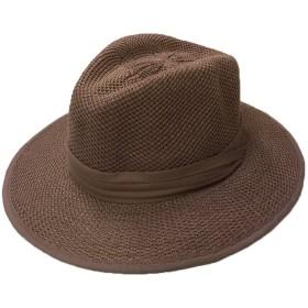 (サングローブ) Sunglobe UVカット 帽子(男性用) - メンズ ハット - ポリ コットン メンズハット L/XL(60cm) タン