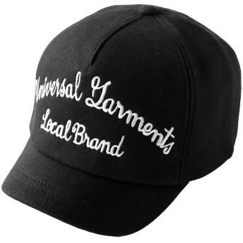 PENNANTBANNERS (ペナントバナーズ) ショートブリム スウェット ベースボールキャップ メンズ レディース キャップ 帽子 短ツバ BBキャップ 深い 大きいサイズ <ブラック>