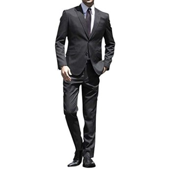 (アトリエサブフォーメン) ATELIER SAB for men メンズ スーツ ビジネス フォーマル T R シャドーストライプスーツ 02-40-6743 ブラック(00) 50(L) ATELIER SAB for men スーツ ビジネス フォーマル