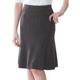 (アッドルージュ) AddRouge スカート レディース ママ スーツ 洗える 大きい サイズ ひざ丈 【j5011msk】 9号 グレー